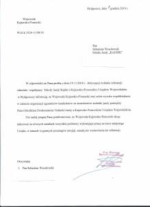referencje wojewoda kujawsko-pomorskie